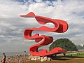 Escultura Passaro-Homenagem a Imigração Japonesa para o Brasil - panoramio.jpg