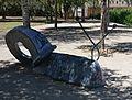 Escultura de caragol al parc de la Rambleta, València.JPG