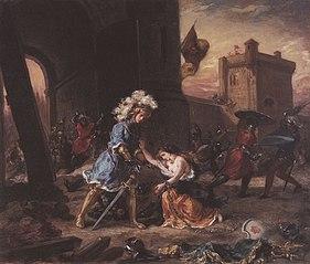 Scene from the Romance of Amadis de Gaule