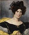Eugène Delacroix - Bildnis der Madame François Simon - 2597 - Staatliche Kunsthalle Karlsruhe.jpg