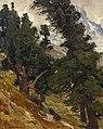 Eugen Bracht - Arven-Landschaft in der Schweiz (1906).jpg