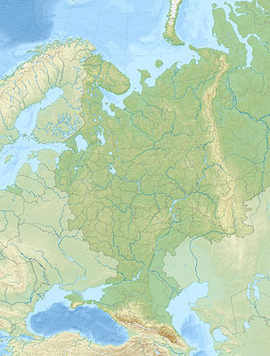 Location map European Russia