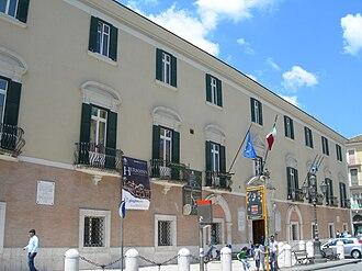 Province of Foggia - Palazzo Dogana, the provincial seat.