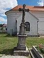 Exaltation of the Cross chapel, crucifix in Vonyarcvashegy, 2016 Hungary.jpg