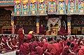 Examination of monks, Tashilhunpo Monastery, Shigatse, Tibet (13).jpg