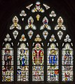 Exeter Cathedral, Stained glass window (36054523614).jpg