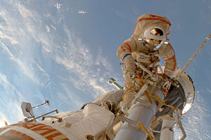 Sergey Volkov (cosmonaut) - On July 15, 2008, Volkov participated in his second spacewalk.
