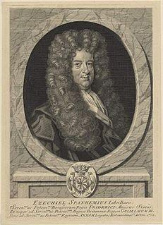 Ezekiel, Freiherr von Spanheim Swiss diplomat