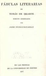 Tomás de Iriarte: Español: Fábulas literarias de Tomas de Iriarte