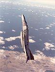 F-4N Phantom II of VF-154 in vertical climb 1983.jpg