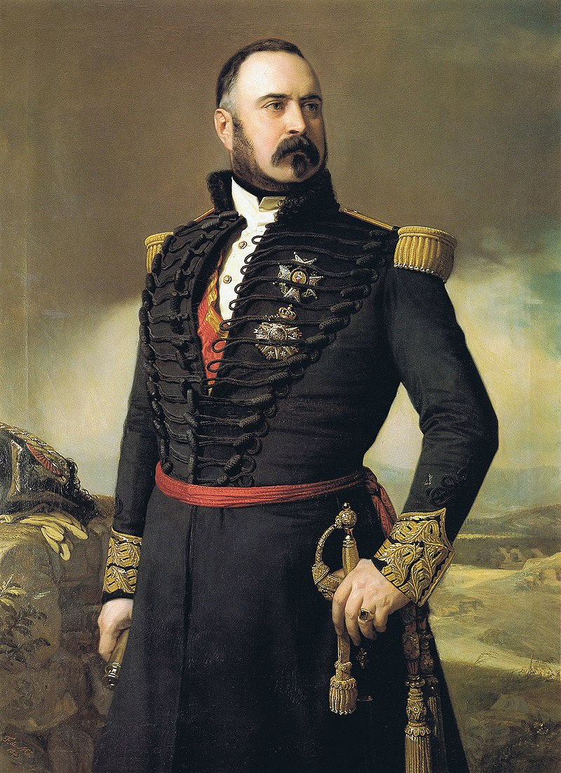 Ф. де Мадрасо - 1849 г., генерал Мануэль Мазарредо (Colección особенно, Мадрид) .jpg