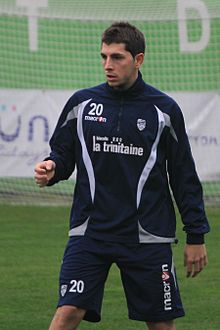 FC Lorient - january 3rd 2013 training - Julien Quercia.JPG