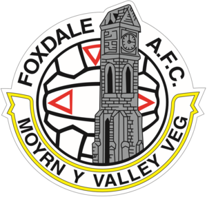 Foxdale A.F.C. - Image: FOXDALE BADGE
