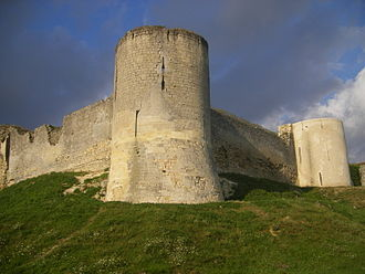 Flanking tower - Flanking towers of Château de Coucy