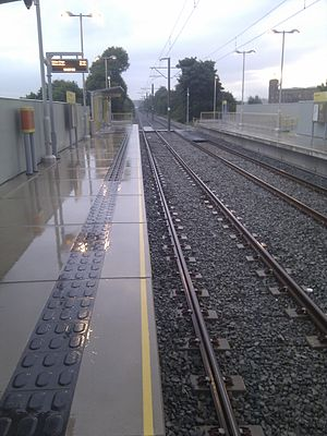 Failsworth tram stop - Image: Failsworth Metrolink Station