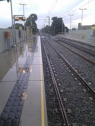 Failsworth tram stop - Image: Failsworth Metrolink Station