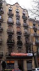 Casa Ramon Jansà, Barcelona, (1905)