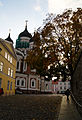 Fall season and Nevsky Cathedral in Tallinn (8053712610).jpg