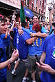 Fans in Little Italy, New York City after 2006 World Cup.jpg