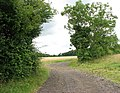 Farm track to Woodlands - geograph.org.uk - 1416128.jpg