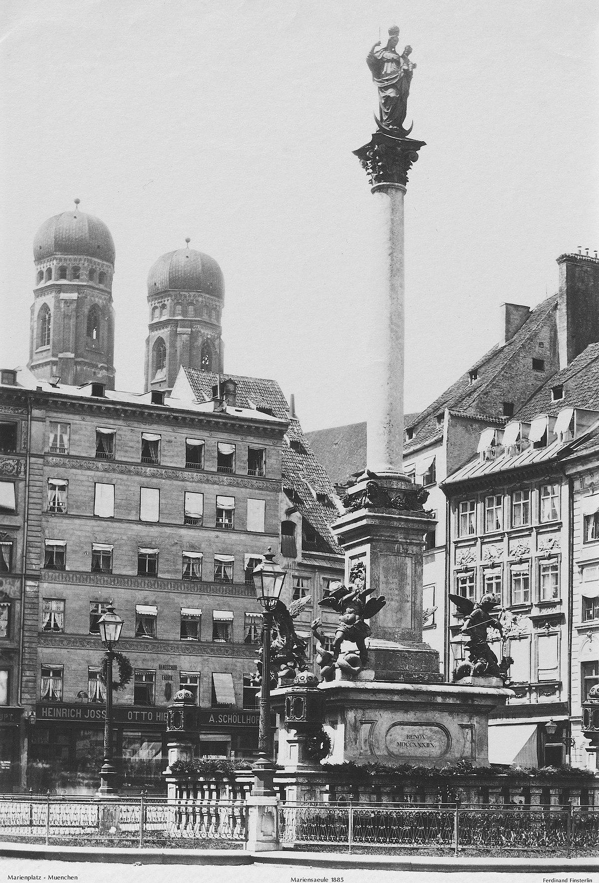Ferdinand Finsterlin Mariensäule 1885.jpg
