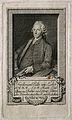 Ferdinand Joseph, Edler von Leber. Line engraving by J. Mans Wellcome V0003447.jpg