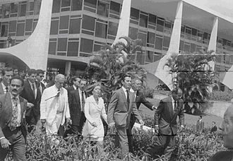 1992 in Brazil - President Collor leaving the presidency.