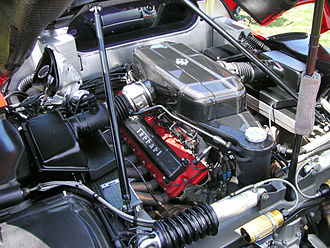 Ferrari F140 engine - The earliest example of the F140 family, a F140 B engine in a Ferrari Enzo