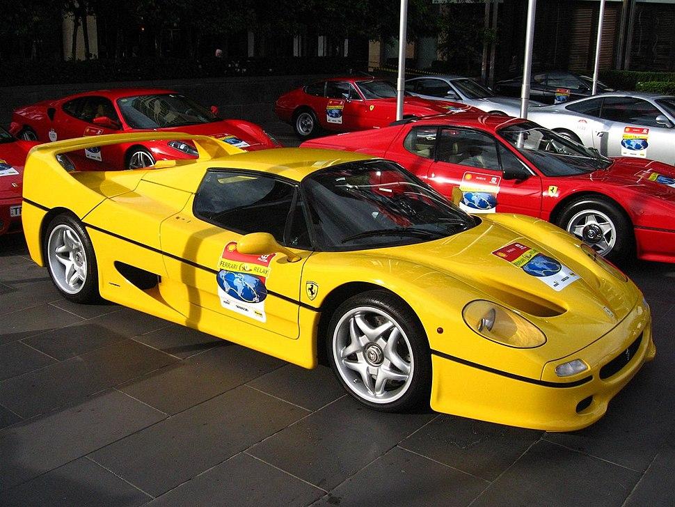 Ferrari F50 - front right (Crown Casino, Melbourne, Australia, 3 March 2007)