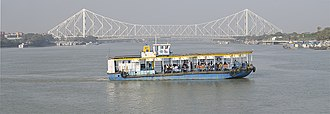 Transport in Kolkata - Ferry between Kolkata and Howrah