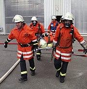 Exercice de sauvetage en Allemagne