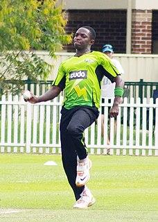 Fidel Edwards Barbadian cricketer