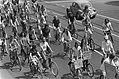 Fietsen, demonstraties, demonstranten, Bestanddeelnr 927-9762.jpg