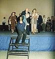 Filmski susreti u Nisu 1997 - Mica Tomic, Bata Paskaljevic i Danica Maksimovic.jpg