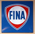 Fina enamel advert sign at the den hartog ford museum pic-092.JPG