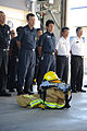 Firefighters with Commander, Navy Region Japan stand in formation at Naval Air Facility Atsugi, Japan, Sept 120911-N-OX321-180.jpg