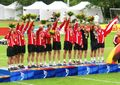 Fistball award ceremony - Austria - World Games 2005.jpg