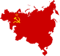 Flag map of Communist Influence in Europe & Asia (Soviet Union).png