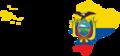 Flag map of Ecuador with Galapagos Islands.png