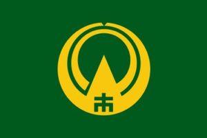 Kamiichi, Toyama - Image: Flag of Kamiichi Toyama