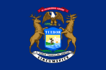 Flag of Michigan (June 26, 1911)