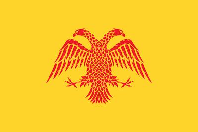 Flag of the Serbian Empire, Byzantine version