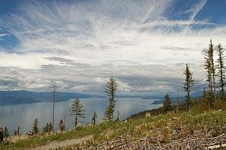 Flathead Lake - Image: Flathead Lake