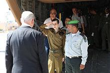 Flickr - Israel Defense Forces - Gilad Shalit Salutes Israel Prime Minister Benjamin Netanyahu