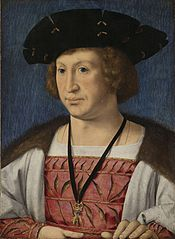 Portrait of Floris van Egmond (1469-1539), Count of Buren and Leerdam