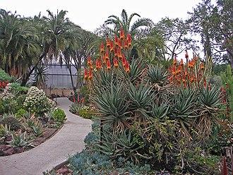 Desert Garden Conservatory - Entrance to the Desert Garden Conservatory