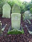 Flt. Lt. J.F.S. Percival RAF grave St Pancras and Islington Cemetery.JPG