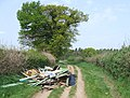 Fly Tipping. Wooton, Shropshire - geograph.org.uk - 408432.jpg