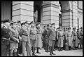 """Fo30141711060041 """"Germanske SS Norge paraderer på Slottsplassen"""" 1944-06-03 (NTBs krigsarkiv, Riksarkivet).jpg"""