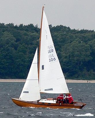 Nordic Folkboat - Wooden Nordic Folkboat in 2007.